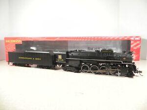 Bachmann 52402 - 2-8-4 Berkshire Steam Loco - C&O Kanawha #2718 - DCC/Sound