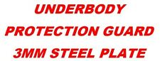 FRONT UNDER GUARD 3MM STEEL SUIT TOYOTA LANDCRUISER 100 SERIES COIL/LIVE AXLE