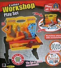 Kids 50 pezzi fai da te auto Meccanico Bench giocattolo finta Officina Playset Strumenti Set Regalo
