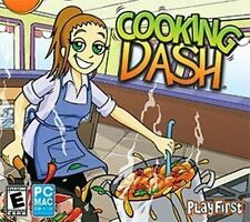 COOKING DASH  Run 5 Restaurants  Win XP Vista 7 8  Mac  NEW Sim