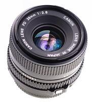 Canon FD 28 mm f 2,8  SN:940881 Getestet Top Zustand / 620
