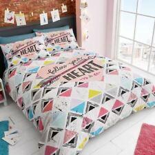 Linge de lit et ensembles à motif Géométrique pour chambre, 200 cm x 200 cm