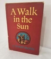 Harry Brown A WALK IN THE SUN Book w/ Dust Jacket 1944 1st Edition 3rd Printing