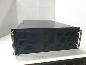 "4U Rackmount server case with 10 x 5.25"" Bays"
