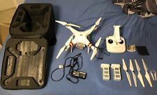 Dji Phantom 3 Standard Quadcopter Drone Remote Battery Accesories Case