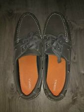 Men's Size 13 Merona Loafers. Barely Worn. Mocha With White Bottoms.