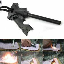Magnesium Flint Stone Fire Starter Lighter Emergency Survival Camping Gear Kits