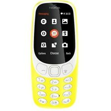 BRAND NEW YELLOW NOKIA 3310 (2017) SIM FREE PHONE - BLUETOOTH - 2MP CAMERA - WAP