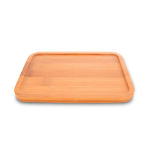 Small Flat Tray Natural Bamboo Kungfu Tea Serving Tray Table 19*13cm/ 7x5inch