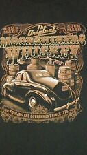 Moonshiners Whiskey T-shirt, size 2XL, Fooling the Govt, Classic Car