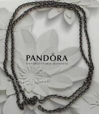 PANDORA | Sterling Silver Black Rhodium Necklace Concept Chain: 591006BR-70