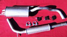 Auspuff Auspuffanlage ab KAT für VW Polo 6N 6N2 97-01 1,4 TDI 1,7 1,9 SDI Diesel