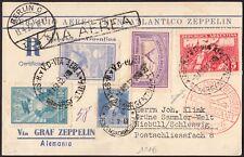 """ZZ12 Argentina - Buenos Aires-Niebull """"Servicio Transatlantico Zeppelin"""" 1932"""