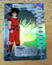 2000 BIRD STUDIO DRAGON BALL Z GOKU  38 OF 38 CARD  RARE!!