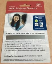 McAfee Small Business Security   1YR   Multi-Devices   Activation Code