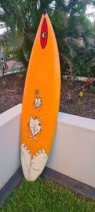 Byrning Spears Surfboard