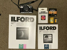 Canon AE-1 Silver Camera Photography Bundle With Paper Film And Lense