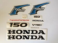 Honda 150 hp Decal 4-Stroke Outboard  Kit Fourstroke Reproduction Decals USA
