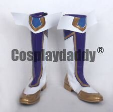 LOL the Prodigal Explorer Ezreal Star Guardian Skin Version Cosplay Boots Shoes