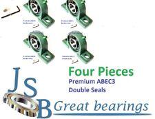 Qt4 Premium Ucp201 8 Double Seals Abec3 Pillow Block Bearings 12 Bore Ucp201