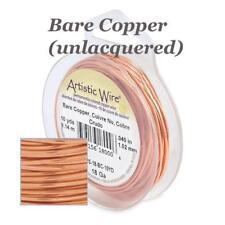 Beadalon Artistic Wire Jewellery Craft Choose Colour & Gauge, Silver, Copper....