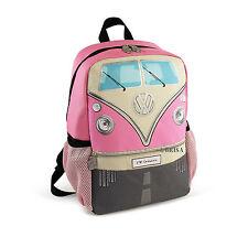 Backpack Small T1 Camper Van Bus Pink Volkswagen VW Collection by BRISA BUBP15
