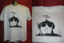 "SWELL MAPS- READ ABOUT SEYMOUR- CLASSIC 1977 7"" SINGLE ART T SHIRT- WHITE LARGE"