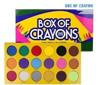 NIB Crayon Case BOX OF CRAYONS eyeshadow