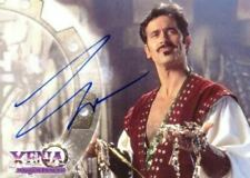 XENA - SERIES SEASON 2 - AUTOGRAPH SIGNED CARD - BRUCE CAMPBELL - AUTOLYCUS A3