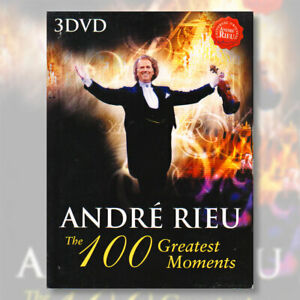 Andre Rieu The 100 Greatest Moments DVD 3 Discs R0 PAL FRENCH Menus Dolby & DTS
