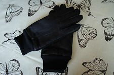 Leather Tailored Vintage Gloves