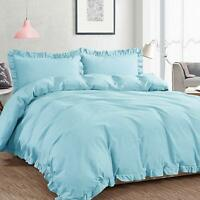 Exquisite Ruffle Duvet Cover Set Luxurious Premium Quality Cover for Comforter