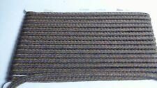 Diamond Braid Rope/Cord Border Trim - Blue/Bronze Mix - Approx 27 meters #5B337