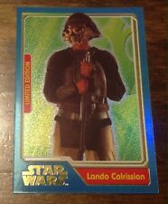 STAR WARS TOPPS LIMITED EDITION CARD JOURNEY TO FORCE AWAKENS LANDO CALRISSIAN