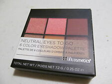 NEUTRAL EYES TO GO 6-color eyeshadow palette BH Cosmetics makeup new