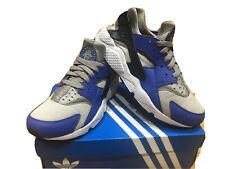 Mens Nike Air Huarache Trainers Size 7 Grey Blue
