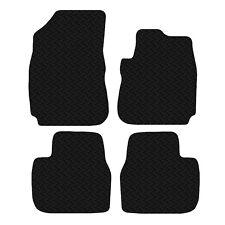 Citroen C4 Cactus 2014 - Onwards Black Floor Rubber Tailored Car Mat 3mm 4pc Set