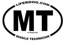 4x6 USN MT MISSILE TECHNICIAN STICKER