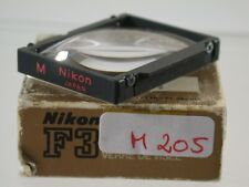 Nikon F3 Einstellscheibe Mattscheibe Focusing Screen Type M Japan 205/9