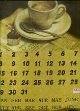 Bild Metallbilder Bild Espresso Kalender