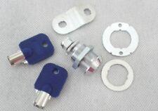 Plastic Core 19mm CAM LOCK Door Lock with 2 keys for Arcade Pinball Machine