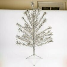 Vintage Peco 4' Aluminum Christmas Pine Tree
