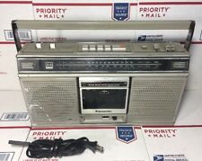 Panasonic RX-5020 BoomBox AM/FM Radio Cassette Player Ghettoblaster - WARRANTY !