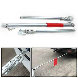 2 TON RECOVERY TOW BAR TOWING POLE HEAVY DUTY STRAIGHT PIPE STEEL CAR VAN U157