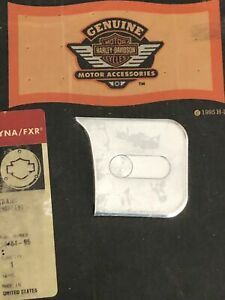 ALMUMINATOR Transmission Case Emblem Kit Harley Dyna 1991-98 OEM 14484-95
