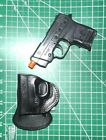 Tagua PD3R-721 LH Leather Rotating Paddle Holster S&W Bodyguard Integrated Laser