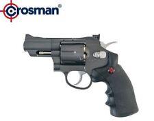 Crosman CO2 Dual Ammo Full Metal Snub Nose Revolver Air Pistol SNR357