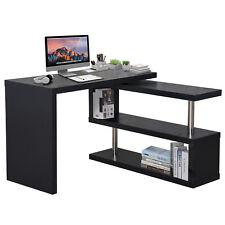 Homcom bureau informatique table D'ordinateur Meuble D'angle et pivotant