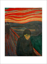 Munch - Despair - fine art giclee print poster - wall art various sizes