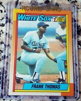 FRANK THOMAS 1990 Topps #1 Draft Pick Rookie Card RC Auburn Sox HOF 521 HRs $$